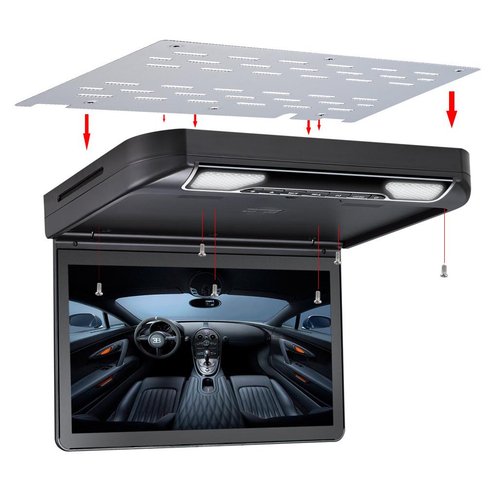 Подвесной монитор с DVD-проигрывателем 13,3