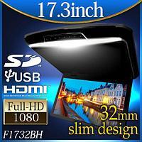 Потолочный 17,3 Монитор dvd-плеер LED LCD, фото 1