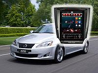 Tesla Style Автомагнитола Lexus IS (2005-2011) на Android
