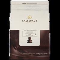 Шоколад темный Callebaut (нат.ваниль,какао 70,1%) 2,5 кг для фонтанов