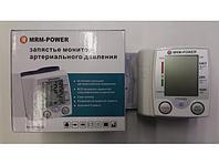 Тонометр автоматический MRM-POWER MRM-35 для измерения артериального кровяного давления на запястье