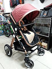 Коляска трансформер для новорожденных Belecoo