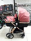 Коляска трансформер для новорожденных Belecoo, фото 8