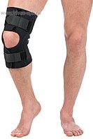 Бандаж разъемный на коленный сустав с шарнирами