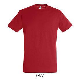 Футболка Sols Regent XXL, красная