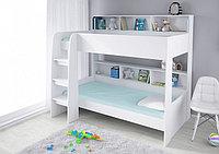 Детская двухъярусная кровать Polini Simple 5000