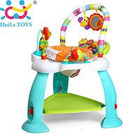 Игровой многофункциональный развивающий центр прыгунки Huile Toys