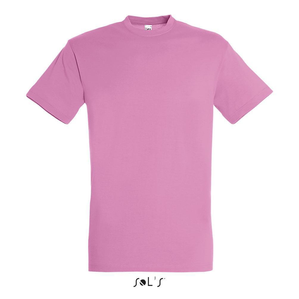 Футболка Sols Regent XXL, розовая