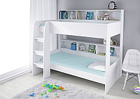 Кровать двухъярусная Polini Simple 5000 белый
