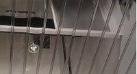 Реечные потолки суперхром