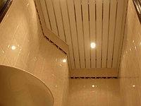 Реечный потолок светло-бежевый