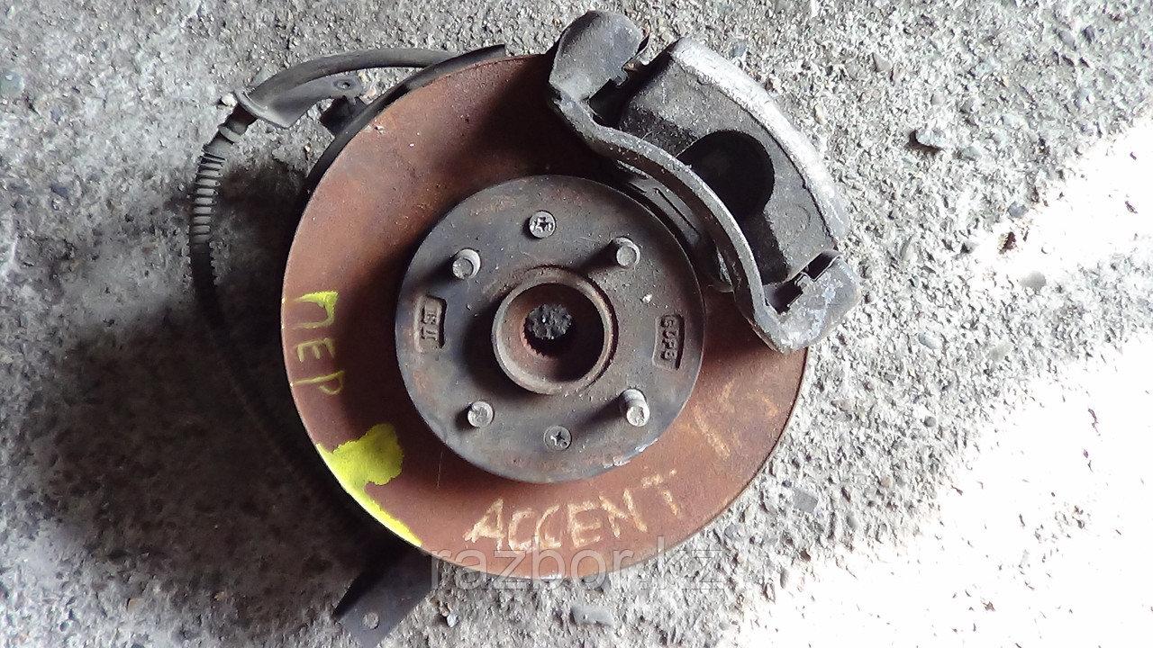 Тормозной диск Hyundai Accent / Solaris передний правый