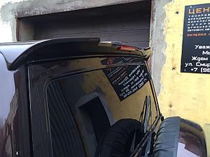 Спойлер на УАЗ Патриот RS спорт (со стоп сигналом) 2005-
