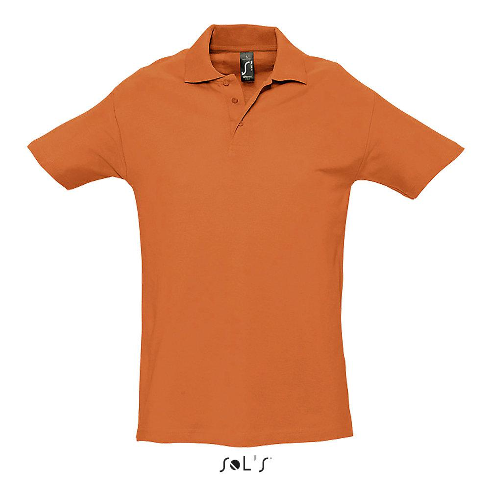 Футболка Поло | Sols Spring ll XL Orange.