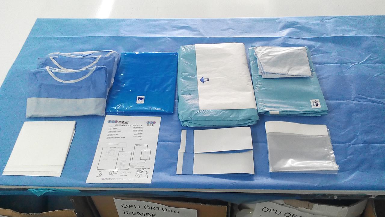 Комплект для лапароскопии одноразовый