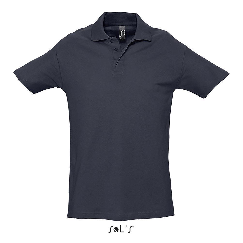 Футболка Поло | Sols Spring ll XL Темно синий