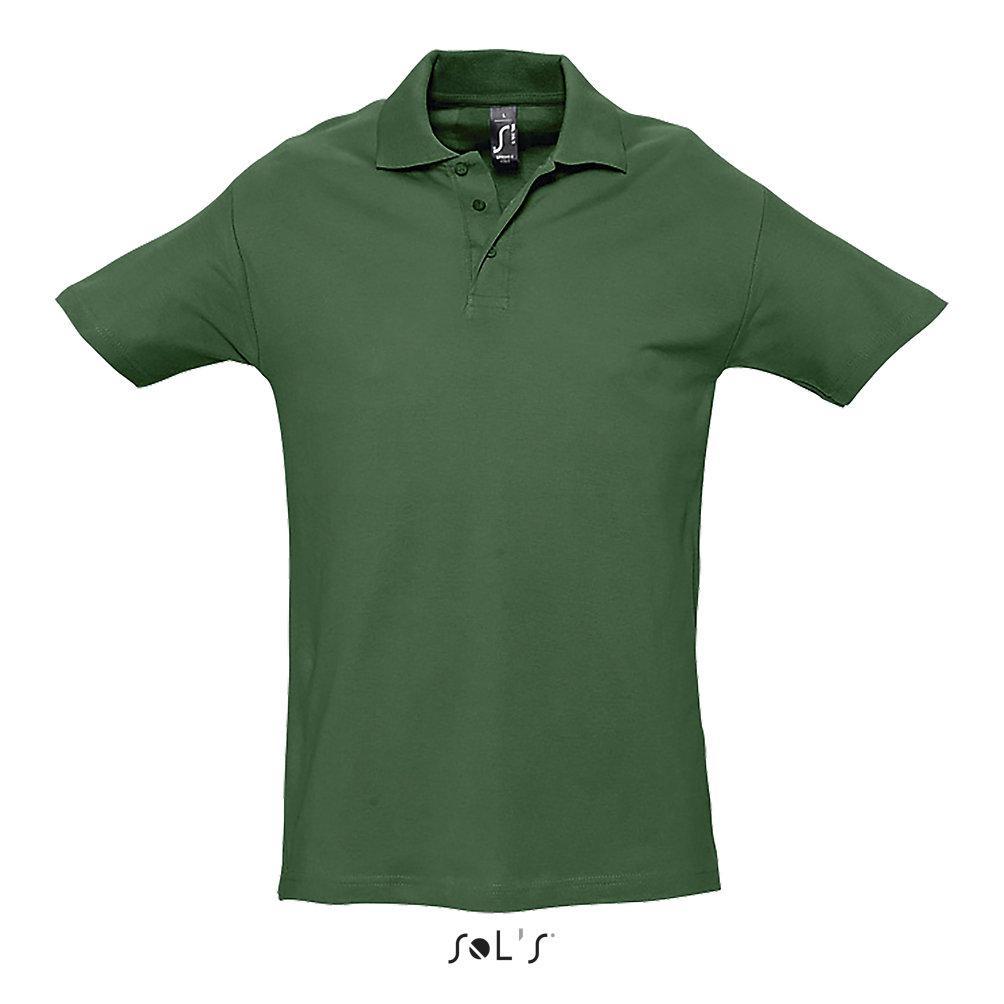 Футболка Поло | Sols Spring ll XL Golf green