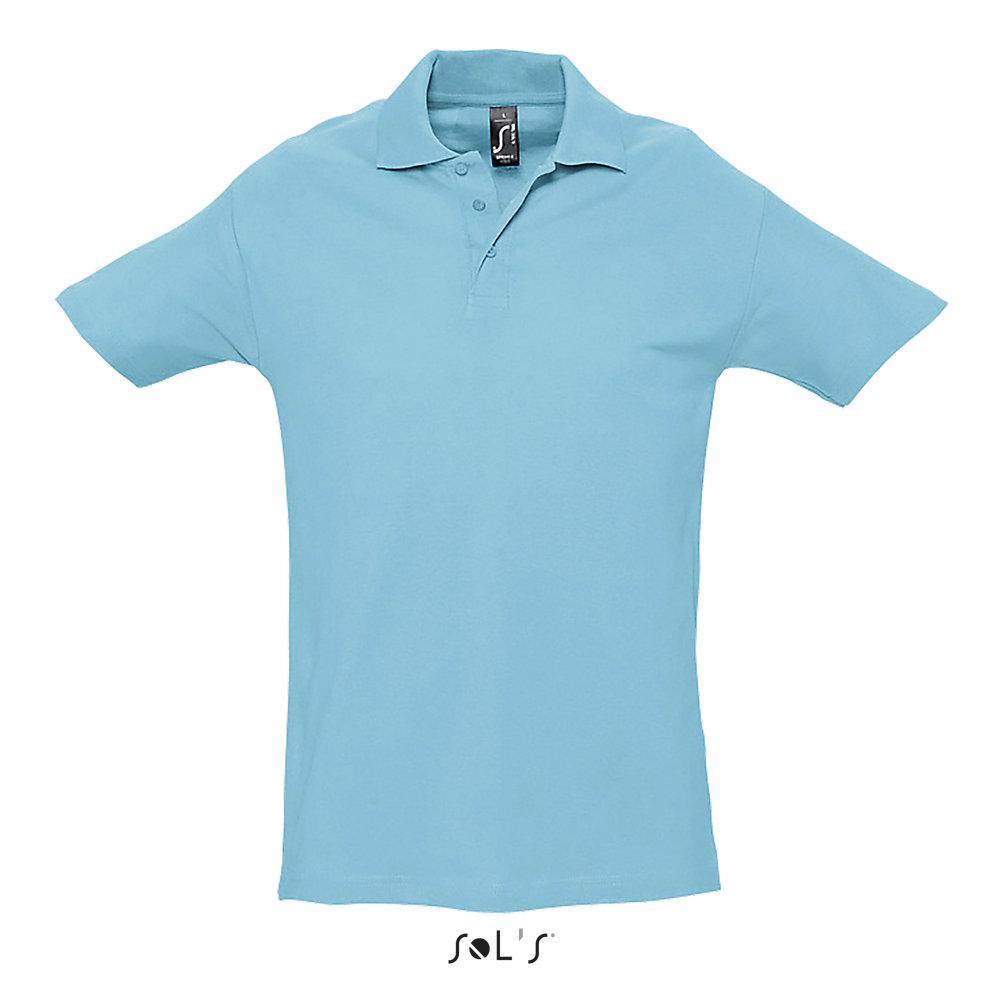 Футболка Поло | Sols Spring ll XL Atoll blue