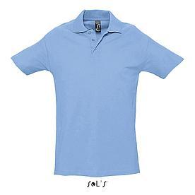 Футболка Поло | Sols Spring ll XL Sky blue