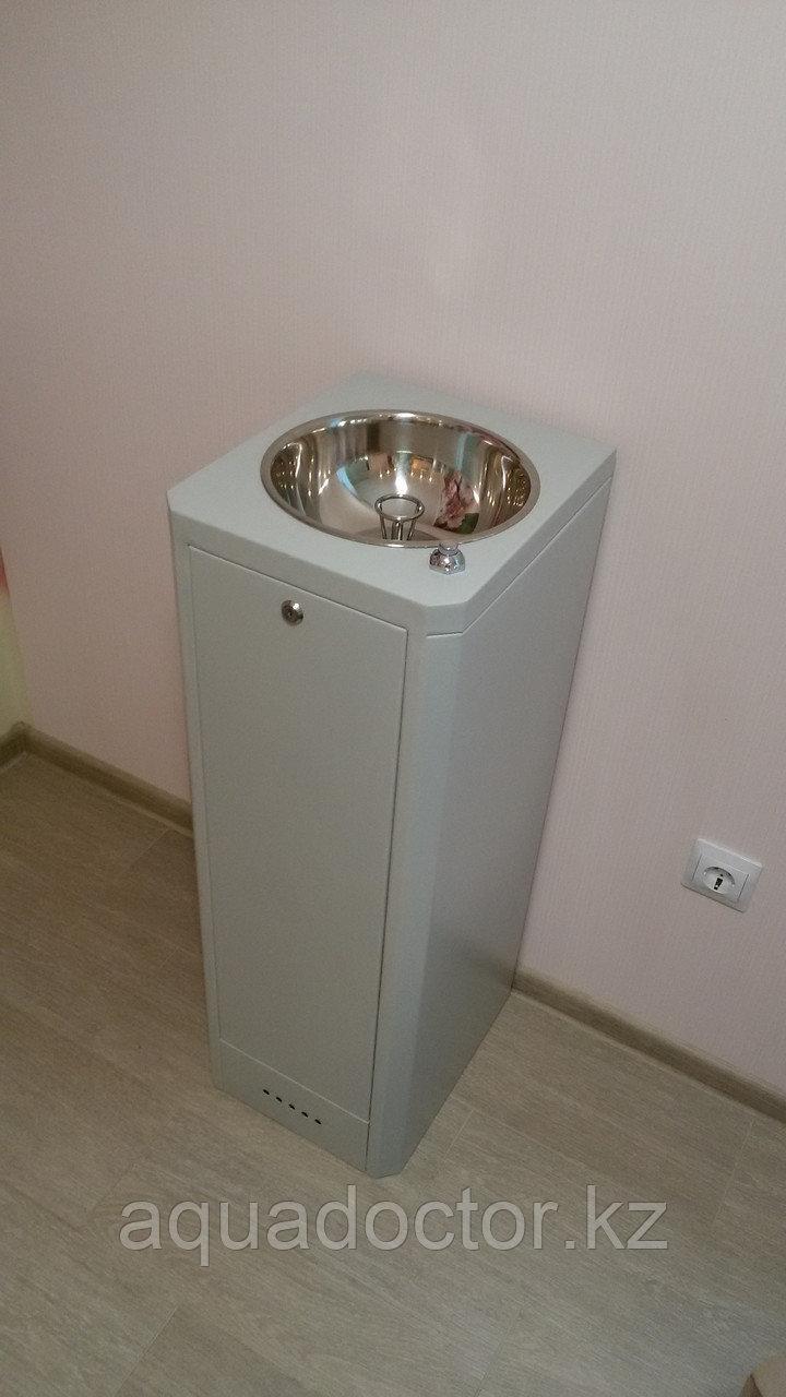 Питьевой фонтанчик ФП-Школьный (шестигранный) с ограничительным кольцом