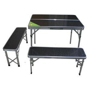 Комплект: стол раскладной и 2 скамьи
