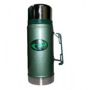Термос с широким горлом с ручкой GREEN WAY