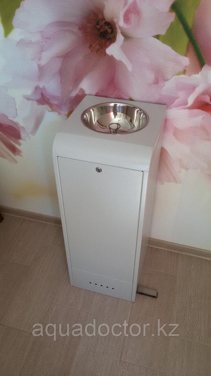 Питьевой фонтанчик ФП-Школьный педальный (шестигранный) с ограничительным кольцом