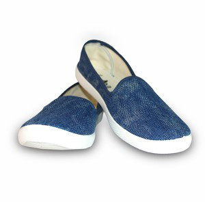 Мокасины джинса