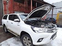 Амортизаторы (упоры) капота для Toyota Hilux 2015-