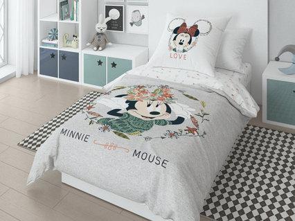"""Комплект постельного белья """"Minnie&Mikky"""""""