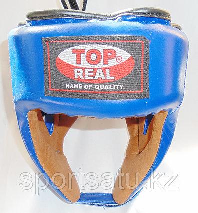 Боксерский шлем Top Real кожа