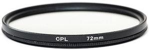 Светофильтр PowerPlant CPL 72 мм