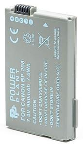 Аккумулятор PowerPlant Canon BP-208 950mAh