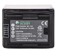 Аккумулятор PowerPlant Canon BP-745 Chip 4450mAh
