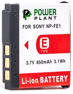 Aккумулятор PowerPlant Sony NP-FE1 850mAh