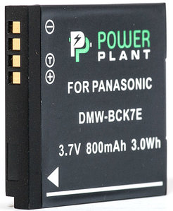 Аккумулятор PowerPlant Panasonic DMW-BCK7E 800mAh