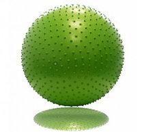 Гимнастический мяч с массажным эффектом 65 см