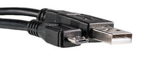 Кабель PowerPlant USB 2.0 AM - Micro, 0.5м