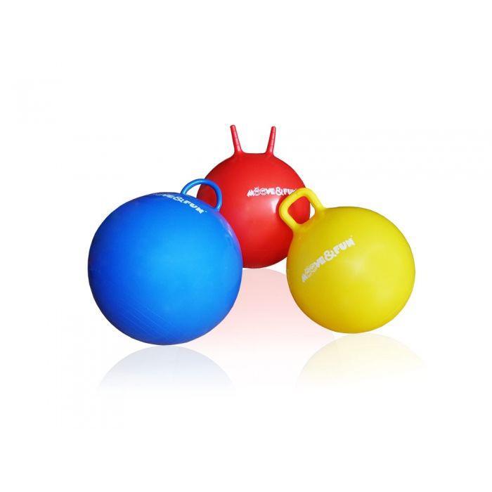 Мяч-попрыгун с круглой ручкой (диаметр 45 см) - фото 4