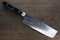 Sakai Takayuki 45 слоя зеркальный Дамаск Накири нож 160 мм