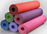 Коврики для йоги (61х183х0.6 см) TPE