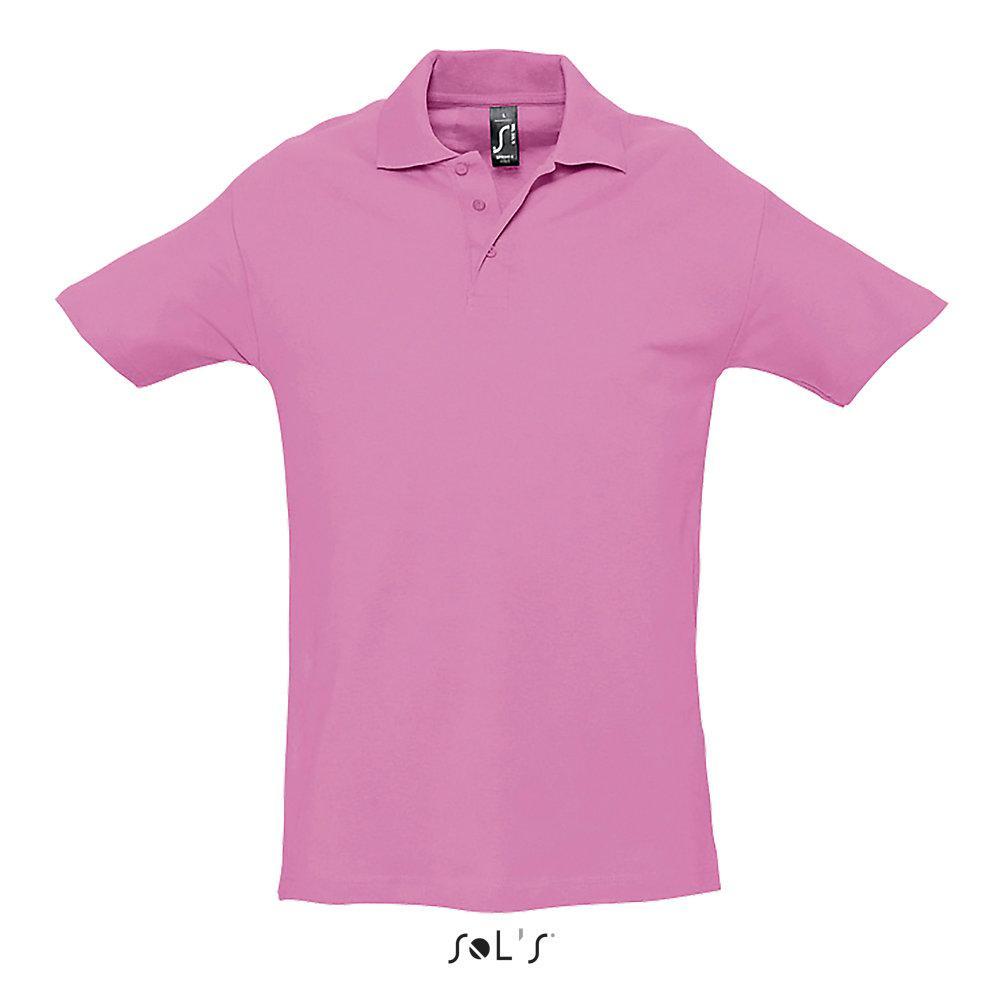 Футболка Поло | Sols Spring ll S Розовый