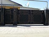Кованные ворота, фото 2