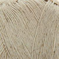 Нитки вязальные Кудельница 500м/100гр 60 хлопок, 40 лен цвет 3600