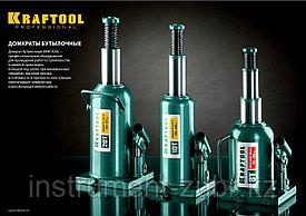 """Домкрат гидравлический бутылочный """"Kraft-Lift"""", сварной, 4т, 206-393мм, KRAFTOOL 43462-4"""