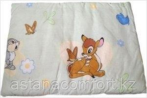 Подушка в детскую кроватку 40х40 см