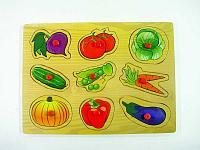 Овощи вкладыши с ручками