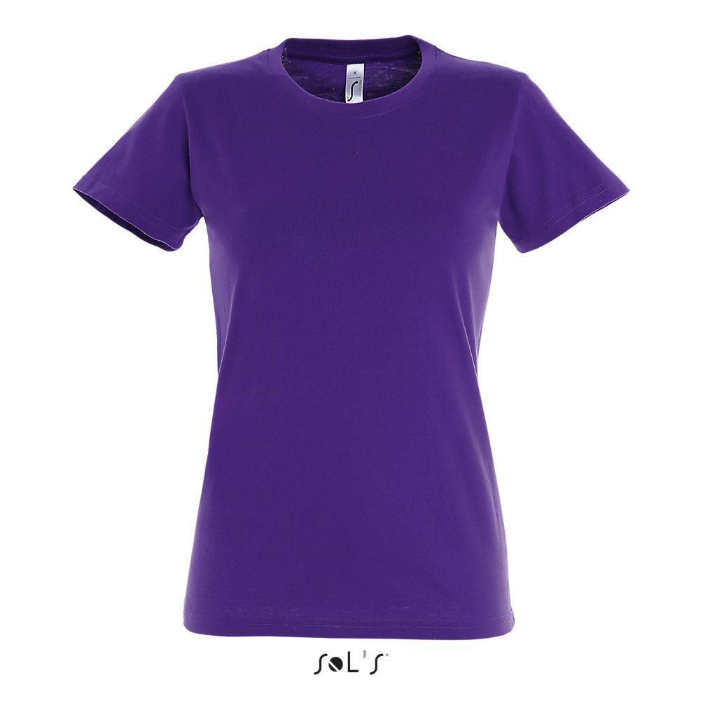 Футболка женская | Sols Imperial XL Dark purple