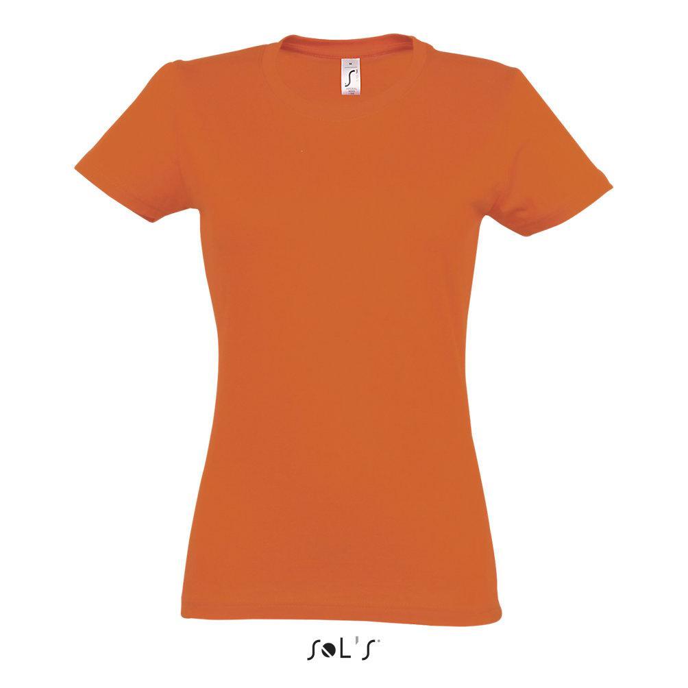 Футболка женская | Sols Imperial XL Orange
