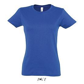 Футболка женская Sols Imperial XL, синяя